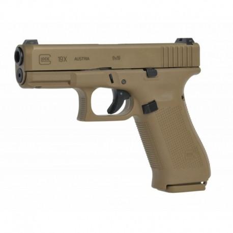 Pistolet Glock 19 X Coyote