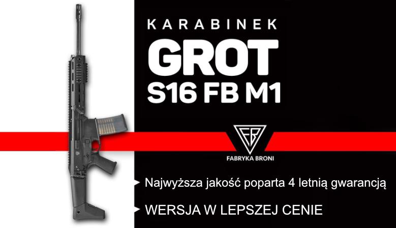 Karabinek GROT S16 FB M1