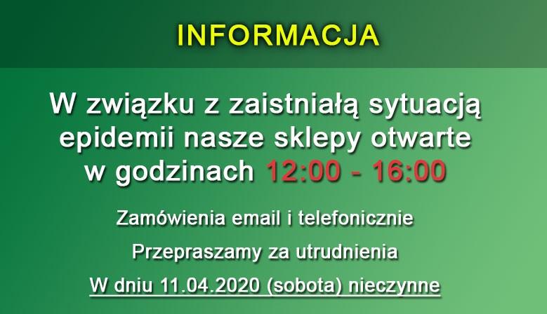 Informacja - COVID-19