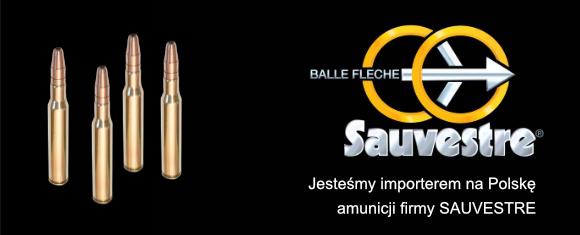 Jesteśmy importerem amunicji Sauvestre.
